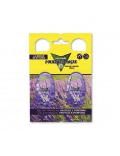 Novar antipolillas fragancia lavanda (pack 2 colgadores 4ml)