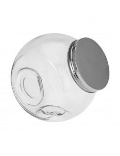 Bote cristal clasico con tapa 1,5l