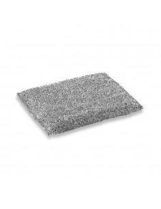 Pack de 6 esponjas de acero inox. no raya 12x9cm