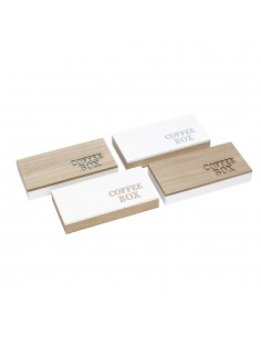 Caja de capsulas de cafe deco 55x175x345mm