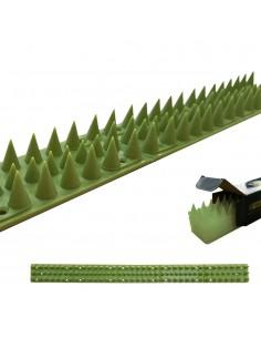 Pack de 6 unidades disuasorio para gatos 50cm verde