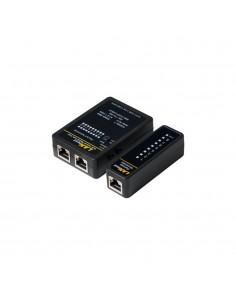 Tester para cables rj11, rj12, rj45 y bnc