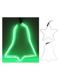 Figura tubo flexiled verde diseño surtidos