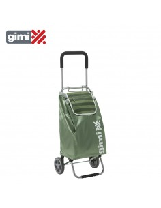 Carrito de la compra flexi green  154294  gimi