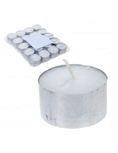 Bolsa con 20 velas blancas