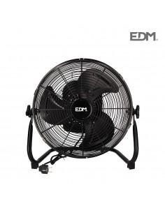 "Ventilador industrial oscilante ø35cm 45w ""black series"" edm"