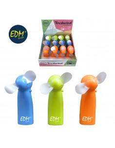 """Ventilador a pilas """"funny colors"""" edm"""