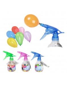 Sifon de globos de agua (50 globos) 17x7cm
