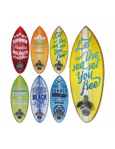 Abridor de botellas modelo surf 6 diseños surtidos