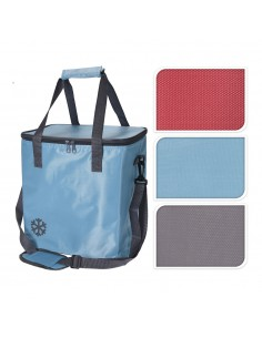 Bolsa tipo nevera 18l con bandolera ajustable 290x310x210mm colores surtidos