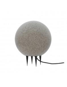 Bola de led para exterior efecto piedra e-27 ø40cm