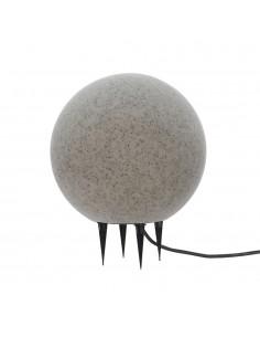 Bola de led para exterior efecto piedra e-27 ø50cm
