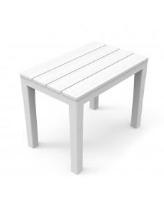 Banqueta color blanco 60x38,5x45cm 2,9kg (solo uso domestico)