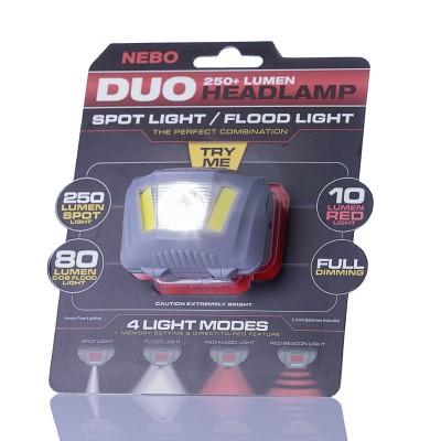Luz Frontal LED 250lm NEBO...