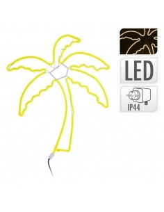 Figura palmera flexiled neon 65x84cm ip44