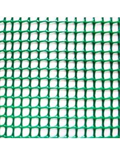 Rollo malla ligera cadrinet verde 1x5m verde 4,5x4,5mm