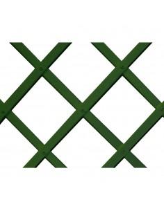 Trelliflex celosia de plastico 0,5x1,5m verde 22x6mm