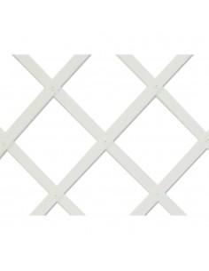 Trelliflex celosia de plastico 0,5x1,5m blanca 22x6mm