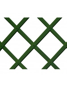 Trelliflex celosia de plastico 1x2m verde 22x6mm