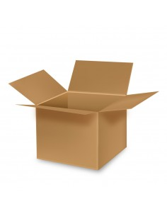 Caja de carton multiusos ideal mudanzas 60,5x40,5x41cm