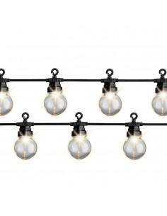 Guirnalda exterior 20 bombillas ip44 9.5m 20 leds