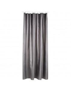 Cortina para baño - polyester - gris - 180x200cm