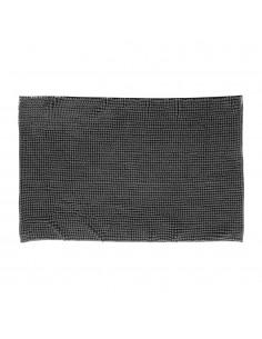 Alfombra de baño - 50x80cm - color gris