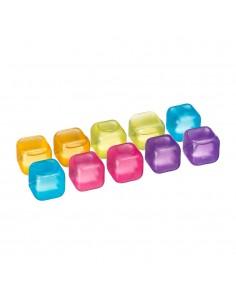 Pack 10 cubitos plastico