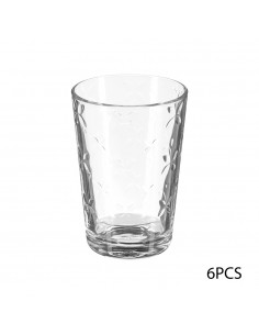 Set 6 vasos cristal 20,5cl