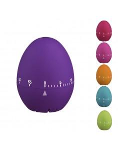 Temporizador huevo goma colores surtidos