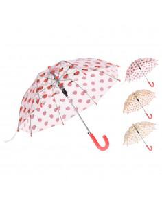 Paraguas niños transparente modelos surtidos