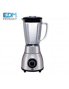 Batidora 1200w - con vaso de cristal - 1,8l edm