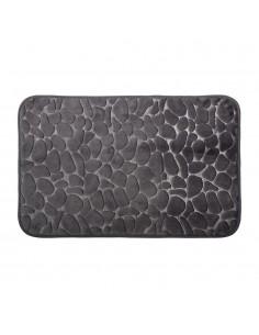 Alfombra de baño - efecto piedra - 80x50cm