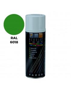 Spray ral 6018 verde amarillento 400ml.