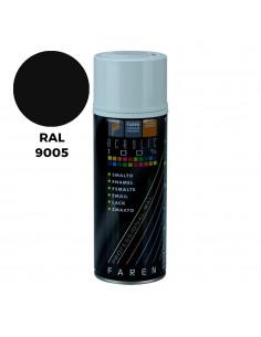 Spray ral 9005 negro satinado 400ml