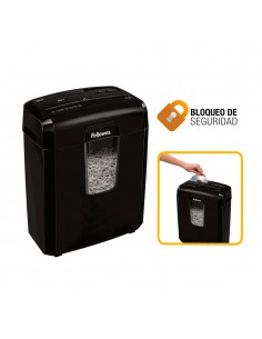 Destructora fellowes 8cd corte en particulas de 4x35mm