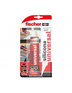 Blister silicona universal blanco fischer 50ml