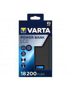 Power bank varta pantalla lcd 18.200 mah