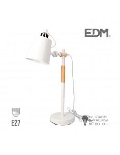 Flexo simple e27 blanco edm