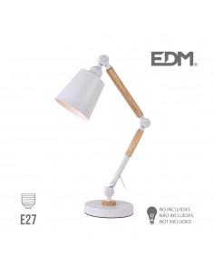 Flexo arquitecto  e27 blanco edm