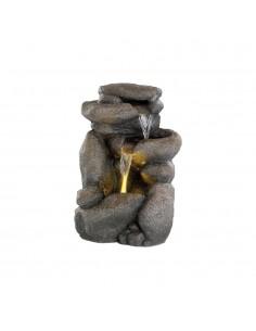 Fuente modelo roca para exterior