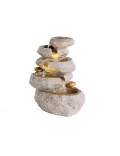 Fuente modelo roca para interior