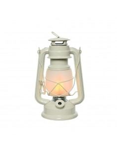 Farol decorativo luz led color blanco efecto flama