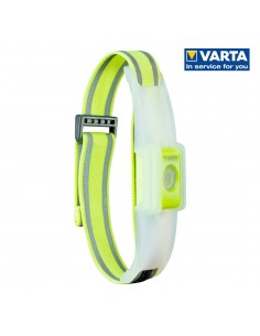 Linterna  banda led reflectante varta outdoor sports