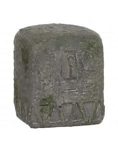 Estatua gris 9x8x9.5cm
