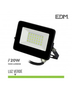 "Proyector led 20w luz verde ""black edition"" lumeco"