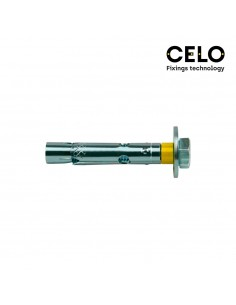 Caja 20un taco anclaje dnbol tornillo dt10-c (m8x60) zincado celo