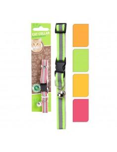 Collar para gato polyester colores surtidos