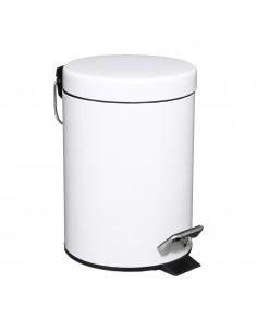 Papelera para wc color blanco 3l
