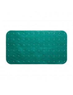Alfombra ducha rectangular aguamarina  69x39cm